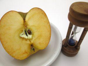 リンゴが酸化